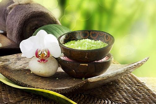base spa zensations ritueel - spa wellness beleving in de schoonheidssalon